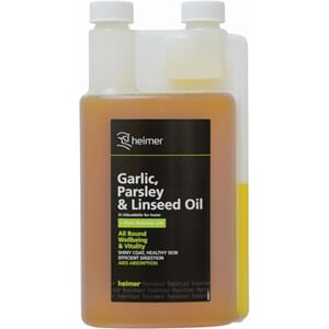 Garlic, Parsley & Linseed oil